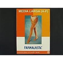 FARMALASTIC MEDIA LARGA NORMAL NEGRA T/REIN