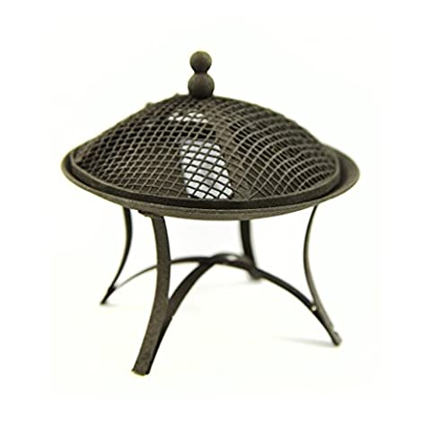 Mini Garden Iron Rustic Fire Pit 2.5 Inch 1Pc