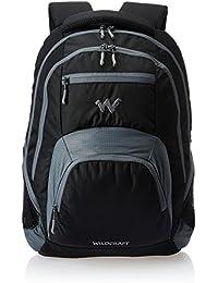 Wildcraft Nylon 30 Ltrs Black Laptop Bag