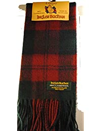 100% lambswool Made in Écharpe Scotland à Lindsay écossaise Tartan 55 pouces de long