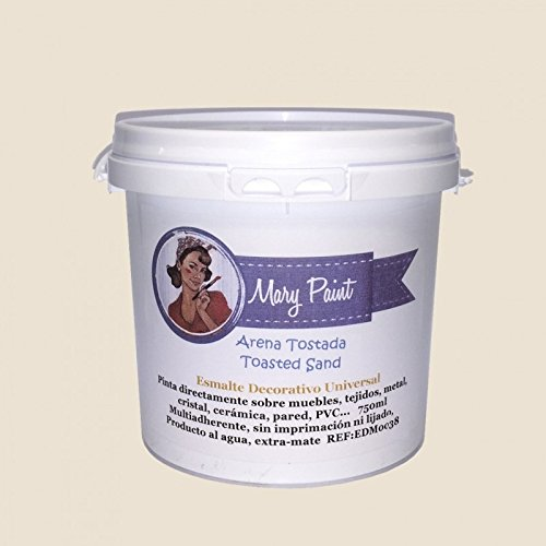 Mary Paint | Pintura para muebles efecto Chalk Paint, Arena Tostada -