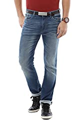 Allen Solly Men Slim Fit Pants_ALDN515J05391_30_Blue