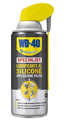WD-40 Specialist - Lubrificante al Silicone Spray Applicazione Pulita con Sistema Doppia Posizione - 400 m