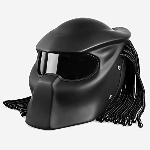 Casco De Moto Predator Motocicleta Montar Casco Personalidad