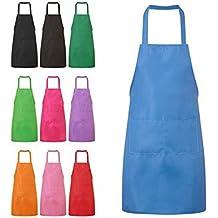 NYKKOLA - Delantal de cocina para mujer, con bolsillos