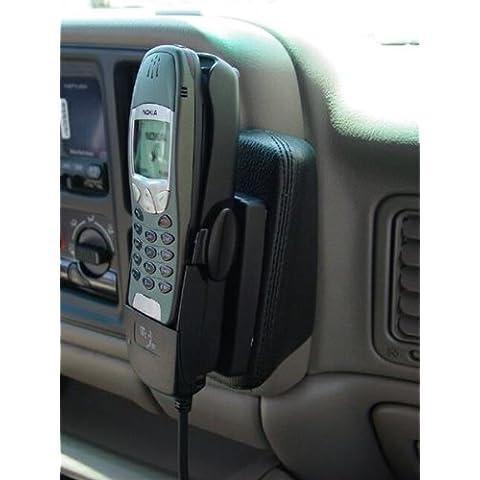 KUDA Telefonkonsole (LHD) für Chevrolet Avalanche/Suburban/Silverado Echtleder <dark beige> (0212)
