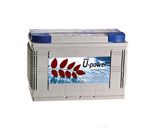 wccsolar.es Bateria AGM monoblock U-Power 100AH 12v Battery Solar