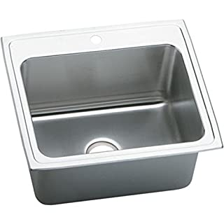 Elkay PLA2522124 Pursuit Single Bowl Utility Top Laundry Sink