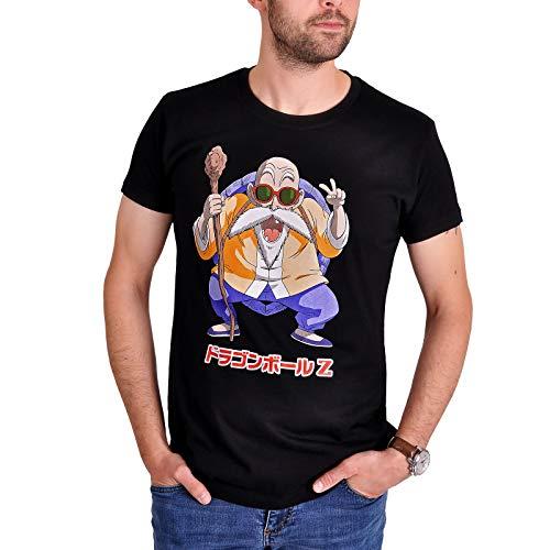 T-Shirt Muten Roshi Baumwolle schwarz - XL ()