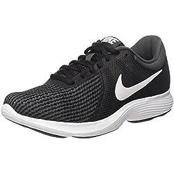 Nike Wmns Revolution 4, Zapatillas de Deporte Unisex Adulto, Multicolor (Aj3491 001 Blanco), 38 EU