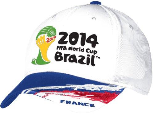 France Adidas 2014 FIFA World Cup Structured Flex Hat Hut - White -