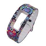 Clode® Luxus Bunt Silikon Uhrenarmbänder Armband Uhr Band Ersatzband für Samsung Gear Fit 2 SM-R360 (E)