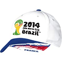 France Adidas 2014 FIFA World Cup Structured Flex Hat Cappello - White 1e680cf1570c