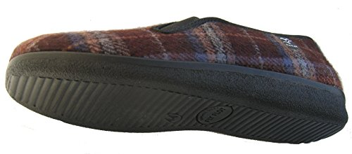 Fly Flot 880318 hommes chaussons brunes