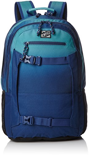 O'Neill - Bm Boarder Backpack, Mochilas Hombre, Blau (Blue Aop W/ Green), 20x31x48 cm (B x H T)