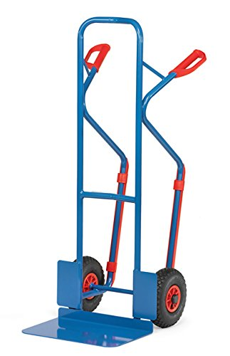Sackkarre mit Vollgummibereifung Höhe 1300 mm Schaufelbreite 480 mm (Sackkarre Vollgummibereifung)