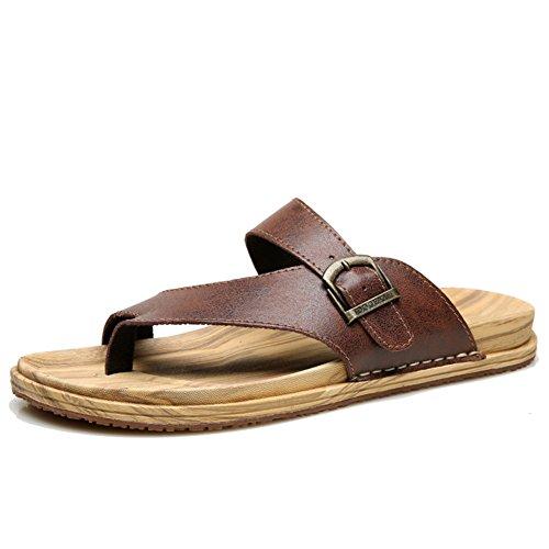 Englische Flip-flops/Sommer Skid Schuhe/Männer Kneifen Hausschuhe C