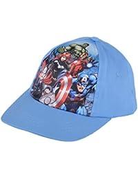 Kids Baseball Cap Boys Hat Marvel Disney Adjustable Velcro Fastening One Size