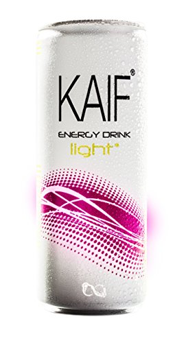 Drinks Life Energy (Kaif light Energy Drink - Pfandfrei - 24 x 250 ml - Tray mit 24 Dosen - Kaif Up Your Life!)