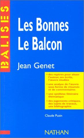 Les Bonnes, Le Balcon de Jean Genet par Claude Puzin