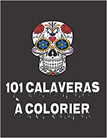 Calaveras Mexicain SUGAR SKULLS-moutarde-Tissu de coton Le jour des morts