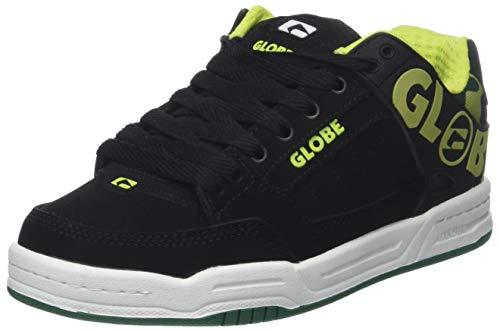 super popular 6eb4d a18fc Globe Tilt-Kids, Chaussures de Skateboard Mixte Enfant, Noir (Black White