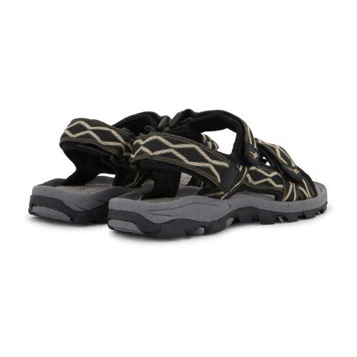 Gola Damen/Herren Gr. Klettverschluss-Gurt Walking Freizeit Schuhe Khaki Black