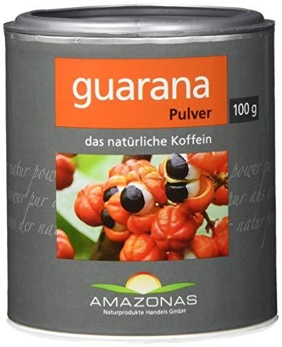 Amazonas Naturprodukte Guarana Pulver Aus Wildwuchs, Schonend Getrocknet, Rohkostqualität