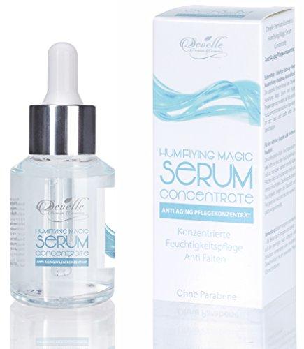 Anti Aging Sofort Effekt Serum - Magic Serum hochkonzentriertes Anti Falten Pflege Konzentrat für Haut Gesicht Dekolleté und Körper 30 ml. Made in Germany