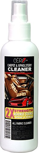 CERO Car Carpet and Upholstery Cleaner - 2X STRENGTH - Spray (200ml)