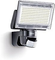Steinel LED-Strahler XLED Home 1 schwarz, Scheinwerfer mit 140° Bewegungsmelder, max. 14 m Reichweite, 1020 lm, 6500 K