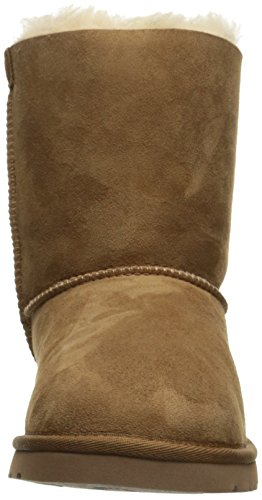 UGG Bailey Bow, - mixte enfant brown (Chestnut)