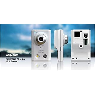 Avtech AVN80X 1.3 MP Fixed Indoor Network Camera with Push Video
