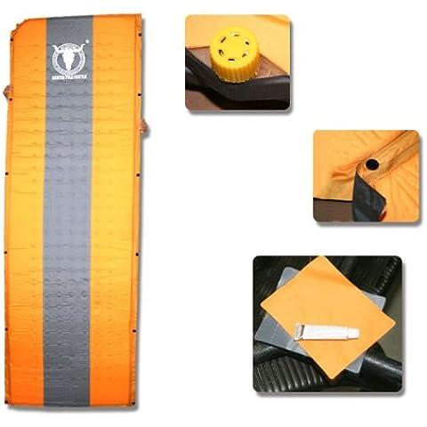 MaMaison007 Moda inflado automatico conveniente colchon al aire libre uso