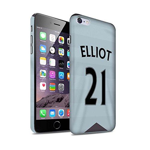 Offiziell Newcastle United FC Hülle / Matte Snap-On Case für Apple iPhone 6+/Plus 5.5 / Pack 29pcs Muster / NUFC Trikot Away 15/16 Kollektion Elliot