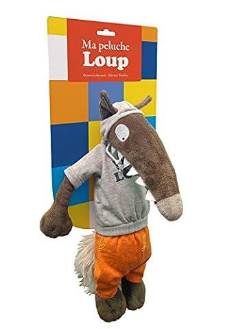 Ma peluche Loup : Tenue sportswear