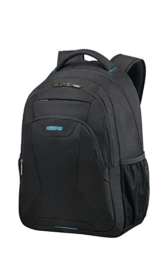 "AMERICAN TOURISTER AT Work - Laptop Backpack 15.6"" Zaino Casual, 50 cm, 25 liters, Nero (Black)"