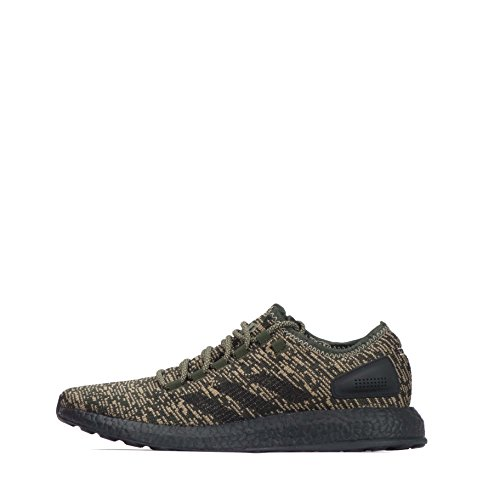 adidas  Adidas Pure Boost,  Herren Niedrig , grün - Green Brown Black - Größe: 45.5 EU