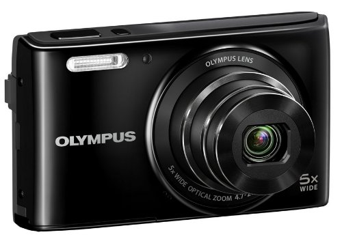 Olympus Stylus VG-180 Point & Shoot Camera (Black)