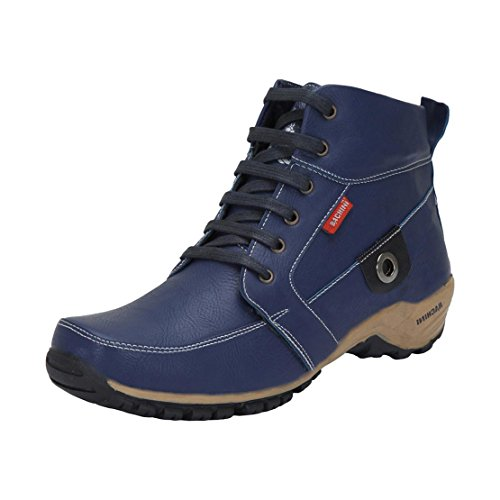 Bachini Men's 1509-Blue Boots - 8 UK