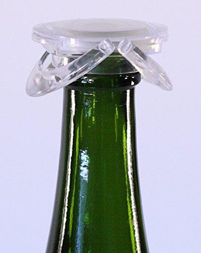 Sektflaschenverschluss, transparent