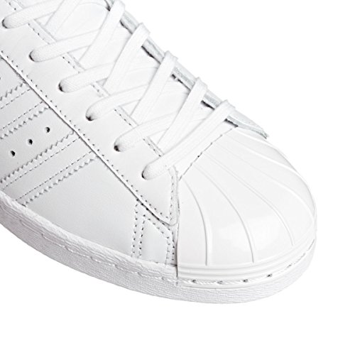 adidas Originals Superstar 80s Metal Toe W Femmes Chaussures Blanc S76540 Weiß