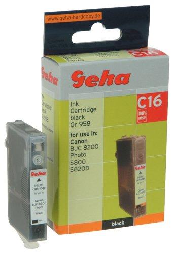 Geha Tintenpatrone für Canon ersetzt Nr. BCI-6BK schwarz