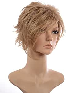 Hair By MissTresses Ash Blonde Short Wig/Lightweight