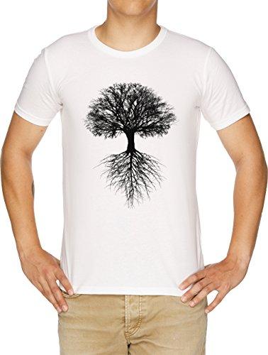 Árbol de Vida Camiseta Hombre Blanco