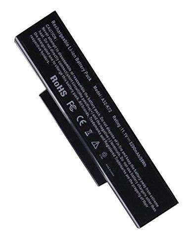 OEM Ersatzakku Notebookakku für Asus Notoebook Laptop Akku A32-K72 / A32-N71 für Asus A72 / A73 / K72 / K73 / N71 / N73 / Pro7A/ Pro7B / Pro7C/ Pro78/ X7A / X7B/ X77, 11,1v / 4400mAh Replacement Batterie