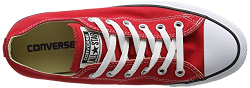 Converse AS Ox Can red M9696 Unisex-Erwachsene Sneaker, Rot (red), EU 42(US 8.5) - 12