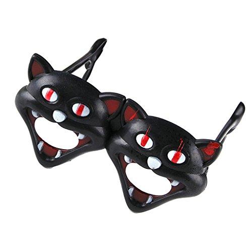 Lustig Glasrahmen Maske Halloween-Maskerade-Cosplay-Make-up-Party
