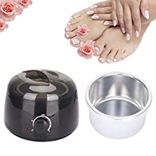 500ml Professional Wax Pot,Small Wax Machine Electric Wax Heater for Wax Removable Container for Hair Removal with Handle