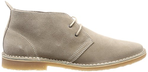 Jfwgobi Suede Boot, Stivali Desert Boots Uomo, Grigio (Ebony), 41 EU Jack & Jones